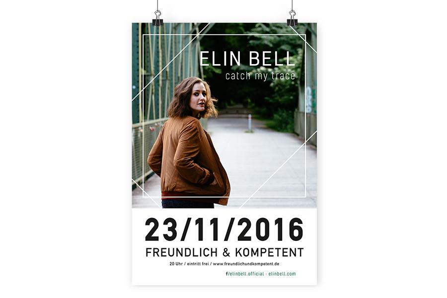 Elin Bell Plakat EP-Release