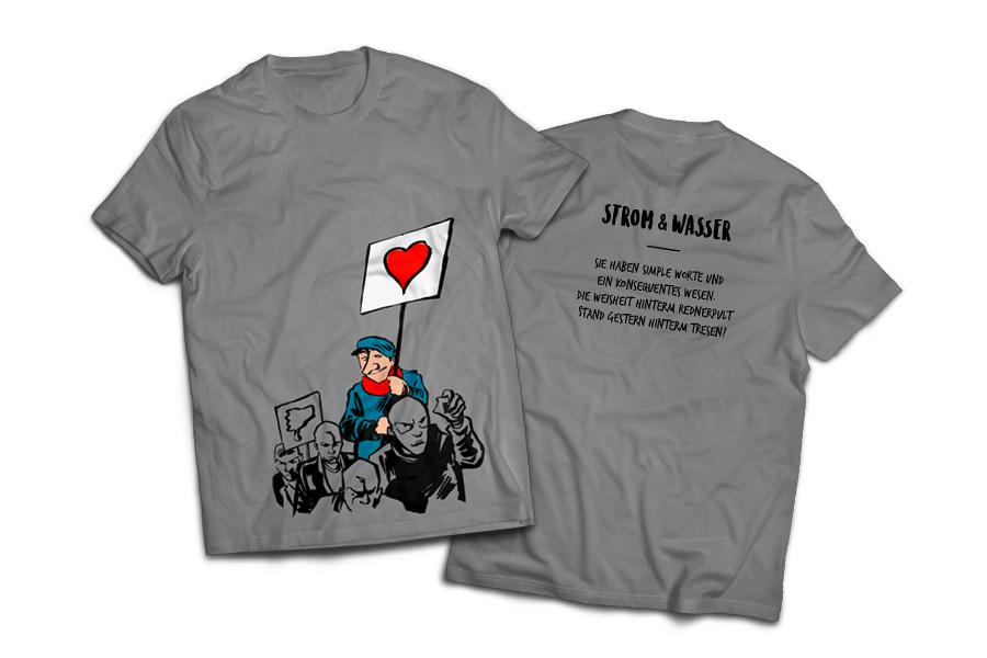 Strom&Wasser »Herzwäsche« Shirt